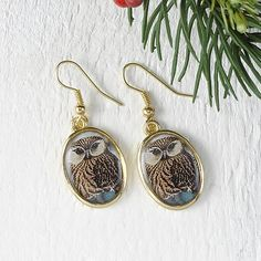 Owl Family Locket Earrings @Kimberly Noel