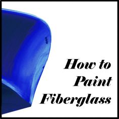 How to prepare and paint fiberglass-reinforced plastic. Includes discussions on immersion service paints, outdoor paints, and the effects of exposure to the elements.