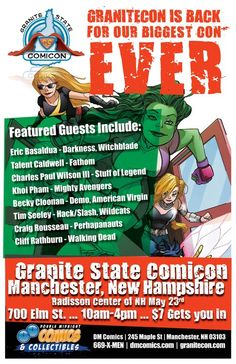 Granitecon cover photo