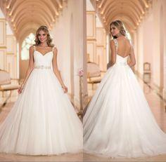 2014 Ball Gown Sweetheart Neckline Spaghetti Strap Zipper Back Alibaba Beaded China Cheap Wedding Dress For Pregnant  Brides US $160.00