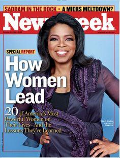 Oprah Winfrey then and now