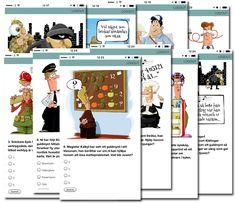 Mobilskattjakt: Detektivjakten - skattjakt i app med deckargåtor Geocaching, Grape Vines, Detective, Finland, Qr Codes, Exit Room, Comics, School, Spur