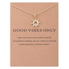 Good Vibes Wish Necklace