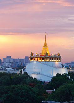 Golden Mount Wat Saket, Bangkok - Thailand