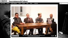 @RoderickShadeDesign and @Michael Tavano on a panel about art in design in Harlem, covered in Ebony. MTPR_ebony_panel