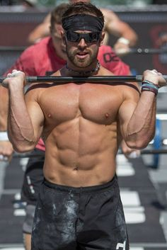 Rich Froning amazing sadly he has raised my standards even higher looks like there are only cats and crossfit in my future