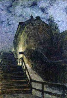 Eugene Jansson (1862-1915): Motiv aus Timmermansgatan, 1899