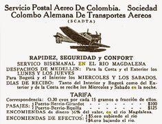 El Blog de GHNB: Como funcionaba el correo aéreo hace 90 años. Mi crónica sobre SCADTA y su servicio de hidroaviones a lo largo de la ruta del Rio Magdalena en los años 20s.  #ghnb