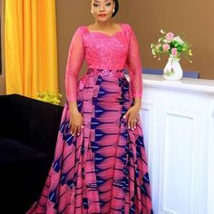 afrikanische hochzeiten 2019 Unique and trendy aso ebi dresses : Top & classy aso ebi collections for beautiful and gorgeous African Ladies African Fashion Ankara, Latest African Fashion Dresses, African Dresses For Women, African Print Dresses, African Print Fashion, African Wedding Attire, African Attire, African Outfits, Ankara Long Gown Styles