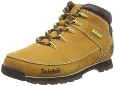 buy popular f268b fd3e0 Timberland Men s Euro Sprint euro Sprint euro Sprint Hiker Kalt Lined Short  Boots and Ankle Boots brown Size  6.5 UK