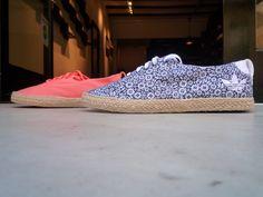 Adidas Azurine. Elegantes, con suela externa de esparto, exterior de lona y suela de goma. Ya disponibles en La Nobi.