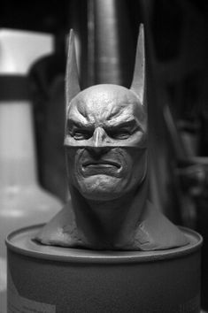Batman Alex Ross 2 by ThiagoProvin on deviantART Statues, Zbrush Character, Found Art, Alex Ross, Deathstroke, Batman Art, Sculpture Clay, Marvel Dc Comics, Light And Shadow