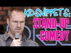 """Kid Snippets: """"Stand-up Comedy"""" (Imagined by Kids) --- For when you need to laugh!"""