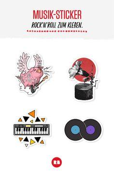 Bei Redbubble findest du genau dein Ding. Egal, ob dein Herz für Keyboards, Schallplatten oder...Gitarre spielende Schweine schlägt.
