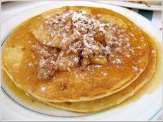 Apple Pancake Recipe served at Carnation Cafe at Disneyland
