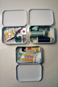 Altoid tin survival kits great stocking stuffer.