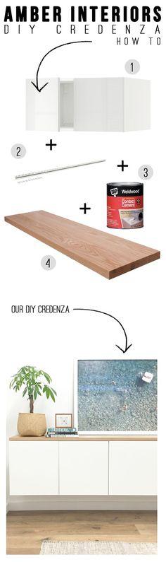 DIY: credenza (via Bloglovin.com )