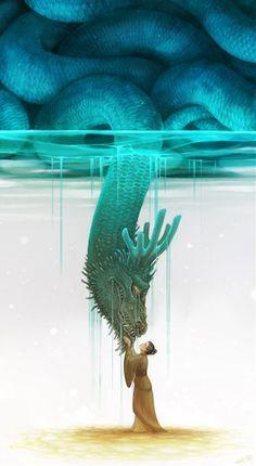 Best Illustration Painting Art Animation Molly images on Designspiration Fantasy World, Fantasy Art, Art Fantaisiste, Art Et Illustration, Creative Illustration, Dragon Art, Pics Art, Art Design, Whimsical Art