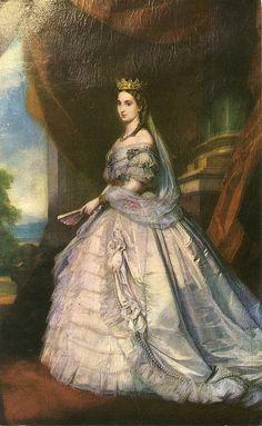 Emperatriz Carlota Castillo De Chapultepec, Mexico, D. F.. Royals, Latina, Mexican Heritage, 19th Century Fashion, Mexican Artists, Antique Photos, Mexico City, Vintage Postcards, Art History