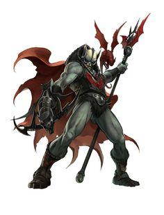 Hordak - fue la mayor amenaza que ha tenido Eternia. Se le conoce como el amo oscuro de la magia, fue capaz de derrotar al rey Hiss, adiestro a Skelletor, derroto a He man y secuestro a She ra cuando era una niña. Finalmente Hordak fue encerrado en un agujero negro con casi toda su Hordak en el fatal enfrentamiento contra He man a las puertas de Greiskull.