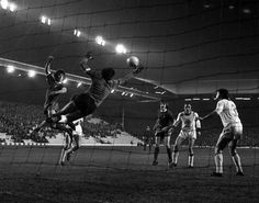 Sport Football Anfield England 23rd October 1974 European CupWinners Cup Second Round First Leg Liverpool 1 v Ferencvaros 1 Liverpool's Kevin Keegan...