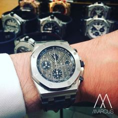 The Audemars Piguet Royal Oak Offshore 'Elephant' on the wrist. Nothing else to say! Which one is your favourite?
