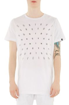 Control Sector Tee Colapsar White - Karmaloop.com