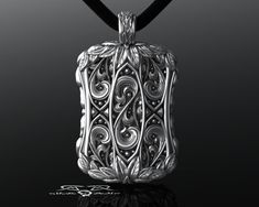 Hey, I found this really awesome Etsy listing at https://www.etsy.com/listing/224629278/large-detailed-mens-signet-dog-tag-with