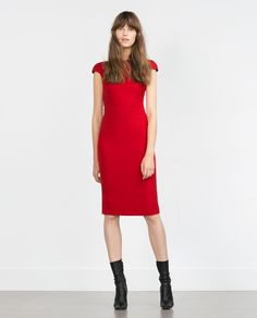 ZARA - COLLECTION SS16 - DRESS WITH ZIPS AT THE BACK