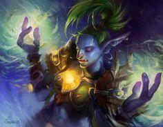 Yana'mi by Nightblue-art.deviantart.com on @deviantART (pinner: trolls really should get more love. Please and thank you, Blizzard.)