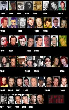 Scott Weiland through the years Say Hello To Heaven, Velvet Revolver, Scott Weiland, Stone Temple Pilots, Alice In Chains, The Thing Is, Many Faces, Best Songs, Music Stuff