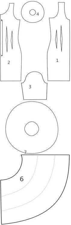 How to make a dress. Flamenco Dress - Step 8                                                                                                                                                                                 More