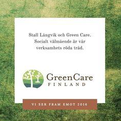 Green Care 🐎 Grön omsorg 🌿🌿🌿 Bakom kulisserna har vi under hösten 2015 tagit ett steg närmare Green Care Finland och vår medverkan kan ses som ett trappsteg i kvalitetsarbetet där stallets och ridskolans sociala profilering och tjänster inom socialt välmående formas. Mer om Green Care under våren 2016.  #greencare #grönomsorg #hallbarutveckling #tillsammansärvistarkare #hyvinvointialuonnosta  @hevostoiminta_laukki @blopblipblop @birdmountainfarm #serframemot2016 Finland