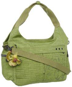 Kipling Women's Affie Large Shoulder Bag Grass Green K19865