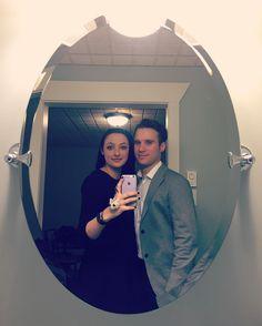Before dinner last night.  #coupleselfie #couple #selfie #photooftheday #winterwander #weekend #weekendgetaway #getaway #latergram