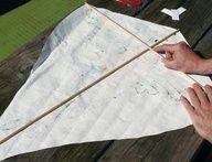 DIY Diamond Kite
