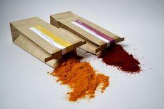 Fabindia Spices by Darshita Mistry, via Behance