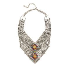 Dannijo Rey Necklace (31,920 INR) ❤ liked on Polyvore featuring jewelry, necklaces, dannijo necklace, oxidised necklace, swarovski crystal jewelry, dannijo jewelry and oxidized jewelry