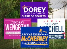 This political season has certainly been busy. Over the years we have helped clients from all across the U.S. in various political races and this spring has been no different. Laick Design has worked with a few local candidates this voting period on a number of unique items such as sign design, poll cards, buttons, magnets, letters and direct mailings. #design #graphicdesign #directmail #signs #politics #political #candidates #logo Clerk Of Courts, Political Campaign, Direct Mail, Sign Design, Over The Years, Design Projects, Period, Magnets, Politics