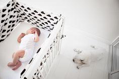 Wyprawka dla noworodka czyli jak uszyć ochraniacz do łóżeczka z wkładami do…