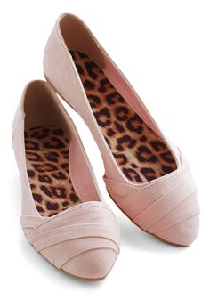 Toe-Tapping Time Flat in Blush