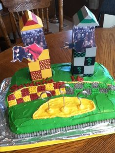 Front of Harry Potter Cake