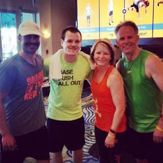We're at the #OTF #LearnAndBurn Summit 2016 in sunny Florida! #StudioManager Brett just finished his 6AM workout with #OTFSouthOakville owners Tim & Sherri and Coach Mike from #Minnesota! They'll be bringing back all the latest and greatest info next week! #afterburn #latergram #orangeisthenewfit #otfminneapoliscalhoun #otfedina  Find a studio near you and try an early morning workout free! http://bit.ly/26YzYQb