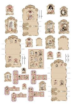 Image result for Printable Dollhouse Accessories