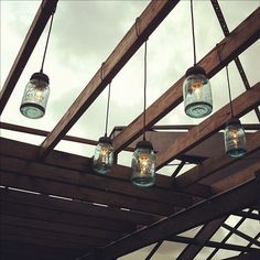 It's all about the details! Mason jar outdoor lighting at The Grounds Of Alexandria