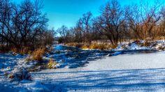 Seine River Rapids in Ste. Anne, Manitoba