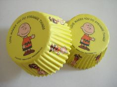 Peanuts Snoopy Charlie Brown in Yellow Love Makes You by gundgangs, $4.50
