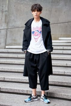 Street style: Jo Min Ho at Seoul Fashion Week Spring 2015