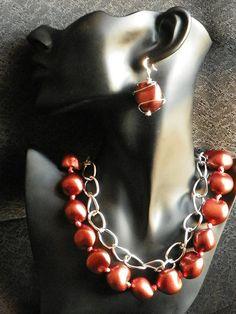 Kukui Nut Necklace Double Strand by LATRAE on Etsy, $30.00
