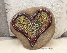 https://flic.kr/p/k427KB | Mosaic Heart | 2012 Sold  Website || Etsy || Facebook ____________